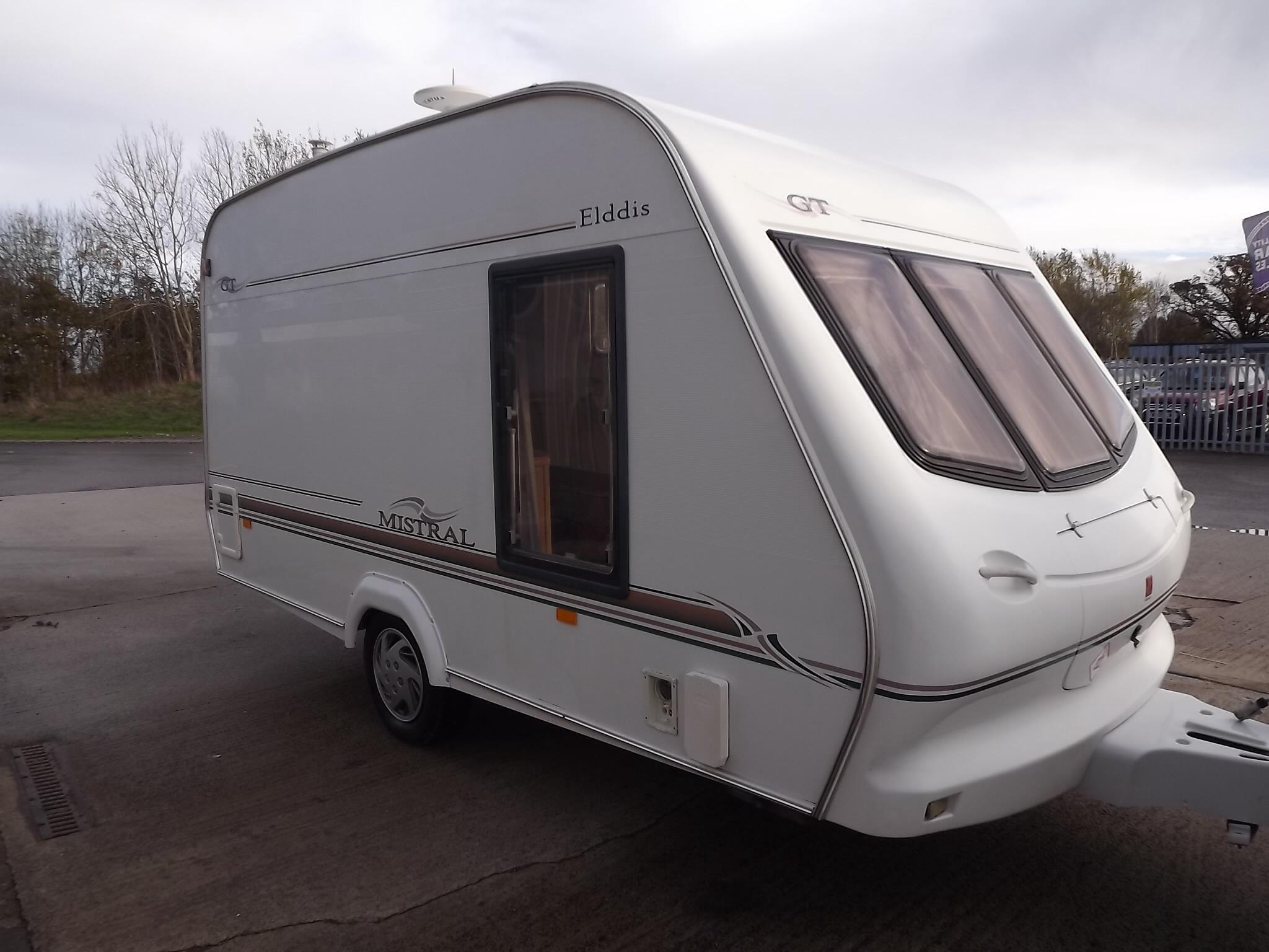 2001 Elddis Mistral Gt 2 Berth Caravan 18995 00 Quality