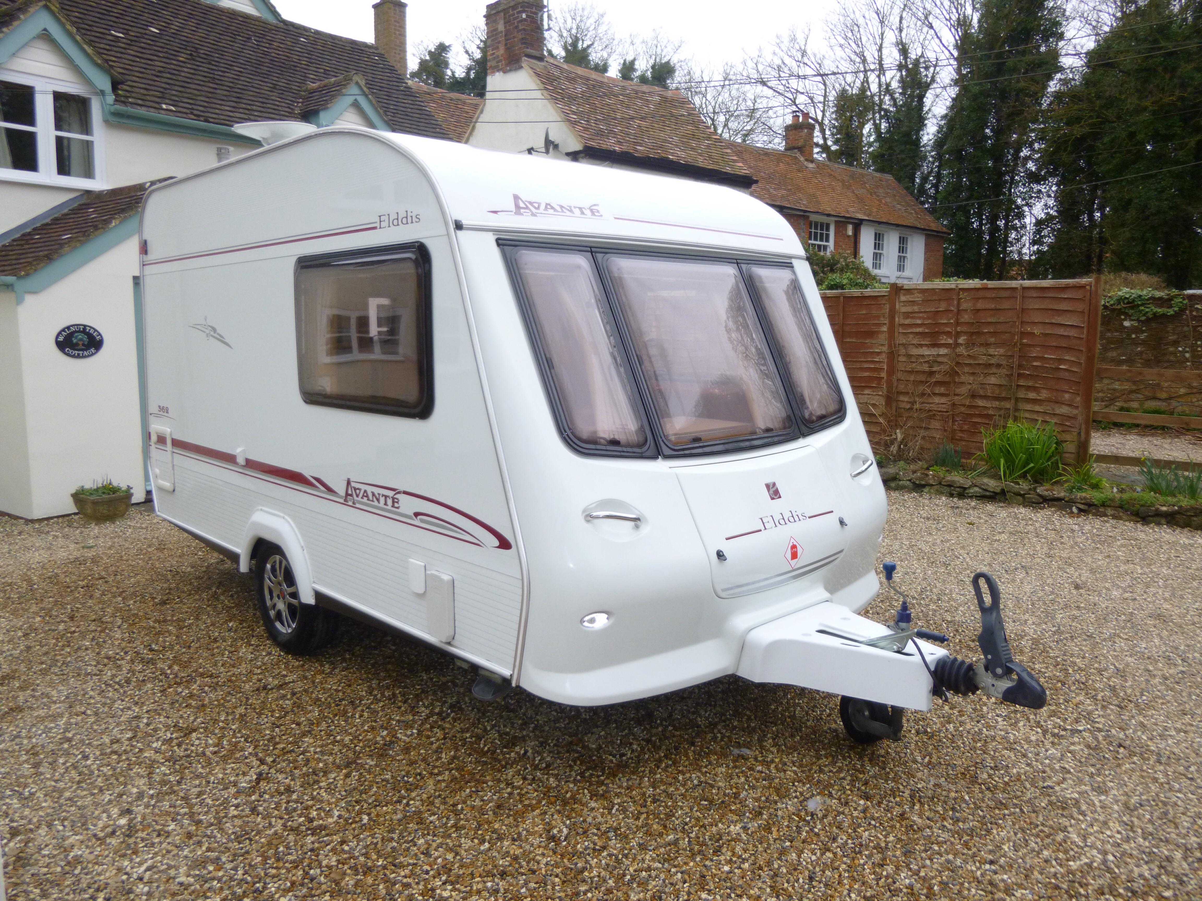 Sold 2004 Elddis Avante 362 2 Berth Caravan 15995 00