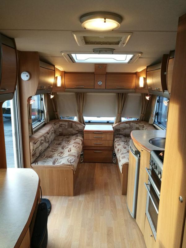 Sold 2007 Swift Challenger 540 Fixed Bed Caravan 28995 00