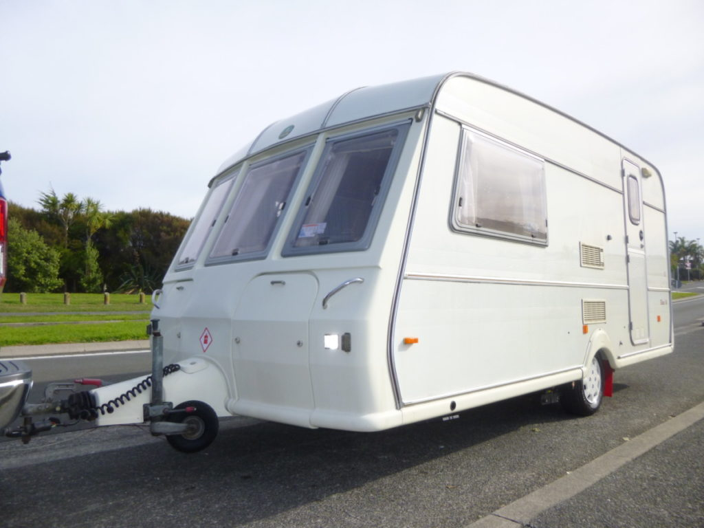 1995 Buccaneer Elan 14 caravan full awning and motor mover ...